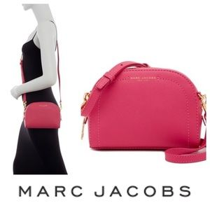 ⬇️ MARC JACOBS Pink Leather Crossbody Bag NWT